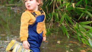 Enfants : Maxens a testé la salopette d'extérieur Lagadoue