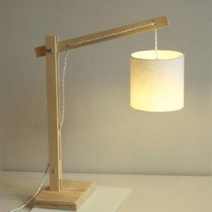 DIY : Lampe articulée en bois
