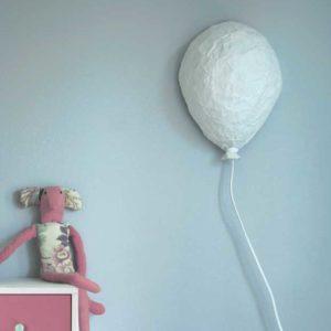 DIY : Lampe ballon en papier mâché