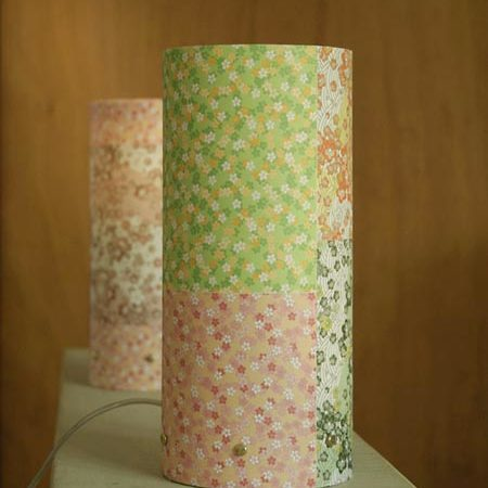 Lampe en papier japonais
