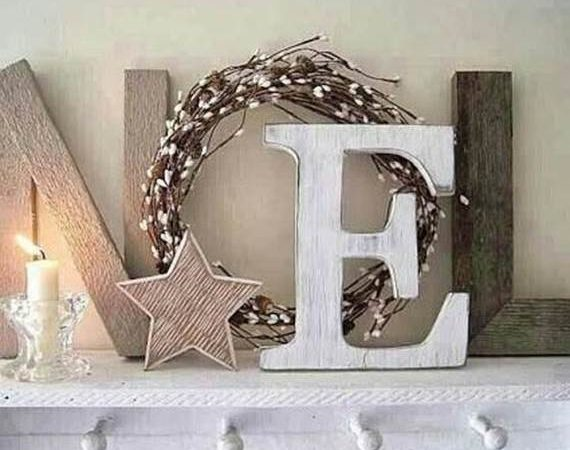 Noël : 10 bricolages déco en bois recyclé