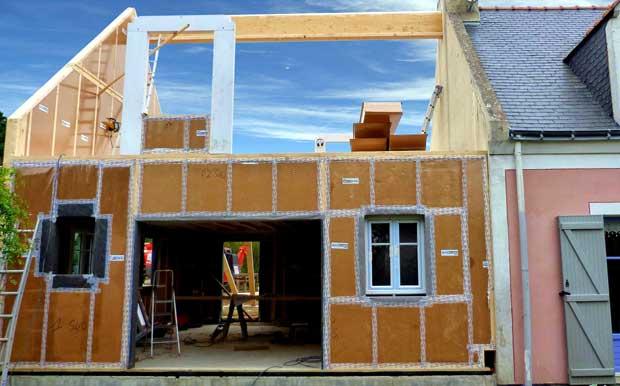 Innovation : Des maisons isolées avec du carton !