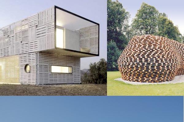 Maison en palettes de bois for Construire sa maison en palette
