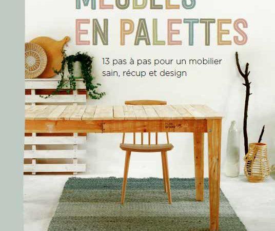Livre : Meubles en palettes
