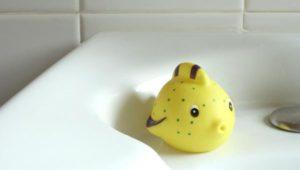 Poudre à l'argile pour la salle de bain