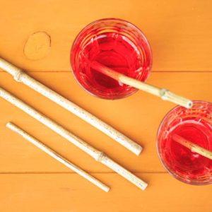 DIY : des pailles en bambou
