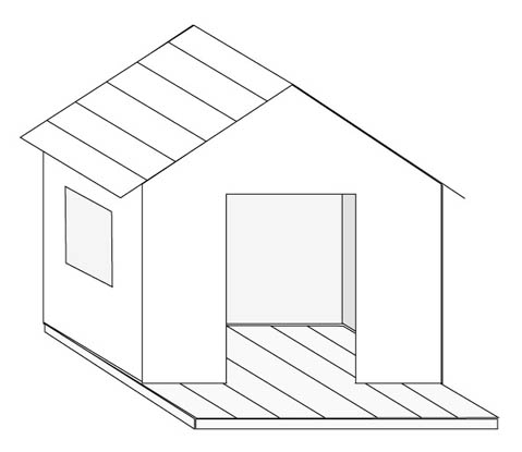 une cabane pour enfant esprit cabane idees creatives et. Black Bedroom Furniture Sets. Home Design Ideas