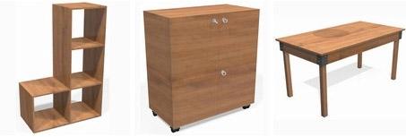 Fabriquer des meubles design esprit cabane idees - Fabriquer ses meubles en bois ...