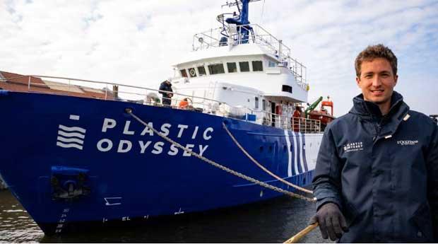 Innovation : L'odyssée révolutionnaire<br> du navire Plastic Odyssey
