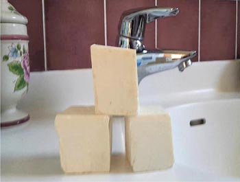 Recette de savon au beurre de karité <br>des femmes sénégalaises