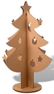 Noel carton - Sapin de noel carton ...