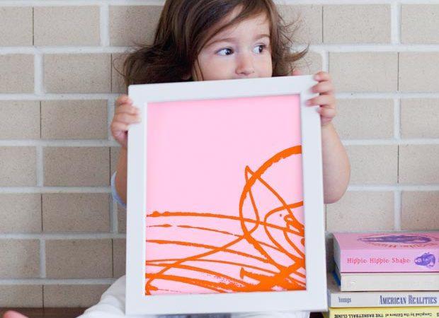 Idée Déco : Que faire avec les dessins d'enfants ?