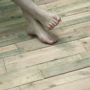 Terrasse bois palette