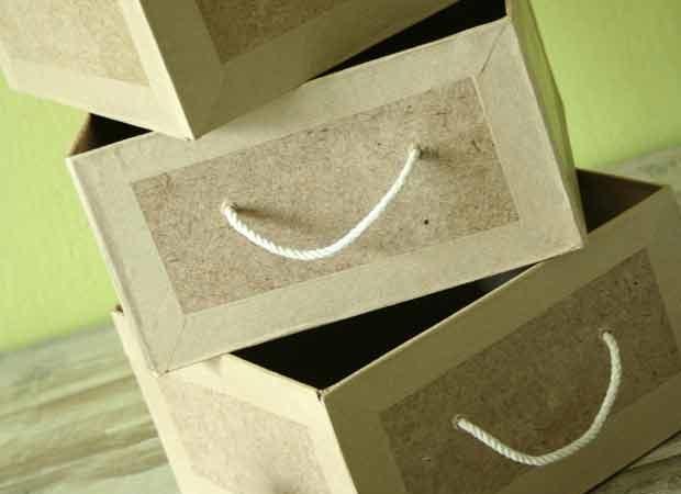 Organisation : Fabriquer des tiroirs en carton sur mesure