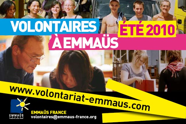 Emmaus France on the web