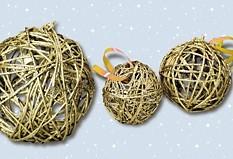 Fabriquer des boules de no l esprit cabane idees - Fabriquer ses boules de noel ...