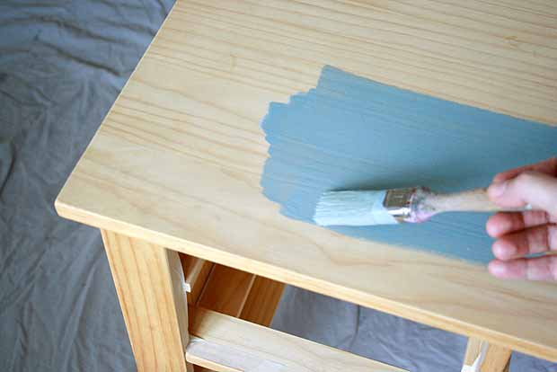 application chalk paint