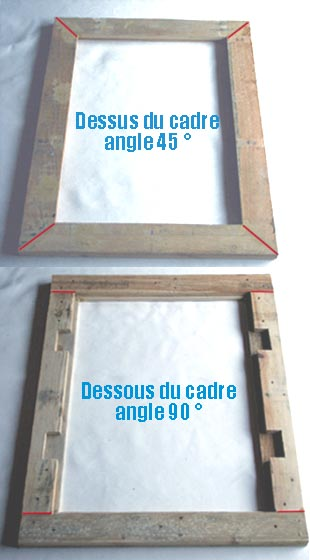 Cadre miroir en palettes esprit cabane idees creatives for Fabriquer un miroir en bois