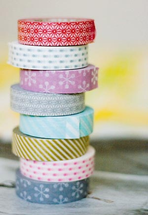 rouleaux masking tape