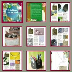 cr ations au naturel esprit cabane idees creatives et ecologiques. Black Bedroom Furniture Sets. Home Design Ideas