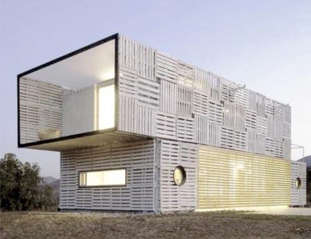 maisons en palettes esprit cabane idees creatives et. Black Bedroom Furniture Sets. Home Design Ideas