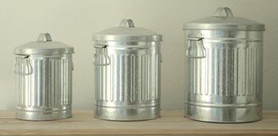 poubelles compost