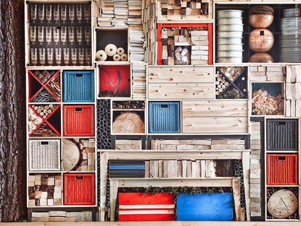 ameublement ik a revient aux basiques esprit cabane. Black Bedroom Furniture Sets. Home Design Ideas