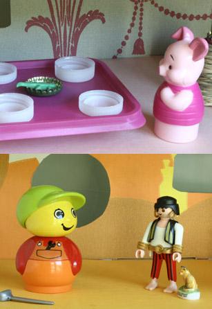 maison poupées étages