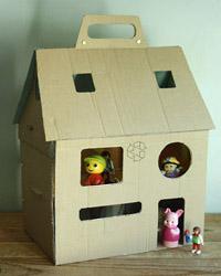 maison poupées repliée