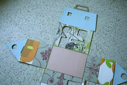 morceaux papiers peints