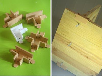 assemblage par vis. Black Bedroom Furniture Sets. Home Design Ideas