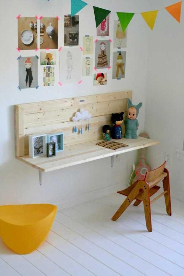 12 projets minimalistes pour la chambre des kids 2 esprit cabane idees creatives et ecologiques. Black Bedroom Furniture Sets. Home Design Ideas