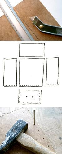 croquis tiroir