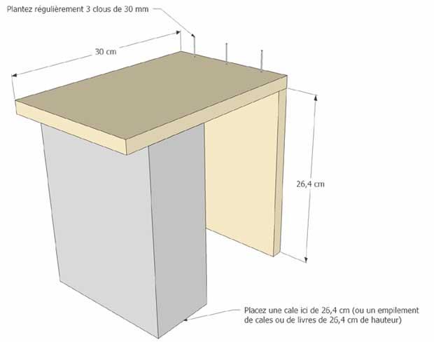 etag res cubes en bois esprit cabane idees creatives et. Black Bedroom Furniture Sets. Home Design Ideas
