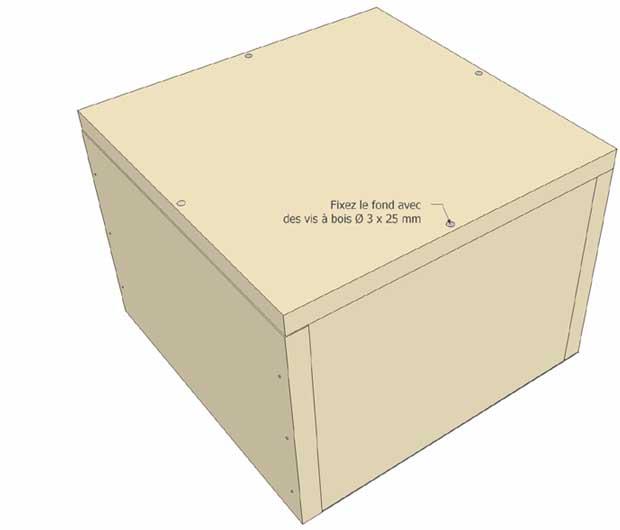 etagères cubes en bois, esprit cabane, idees creatives et ecologiques