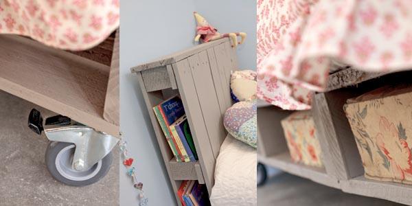 Lit enfant en palette esprit cabane idees creatives et ecologiques - Fabriquer lit cabane soi meme ...