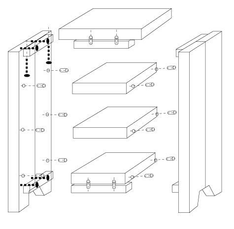 Plan chiffonnier - Fabriquer des meubles en bois ...
