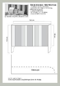 plan tête de lit