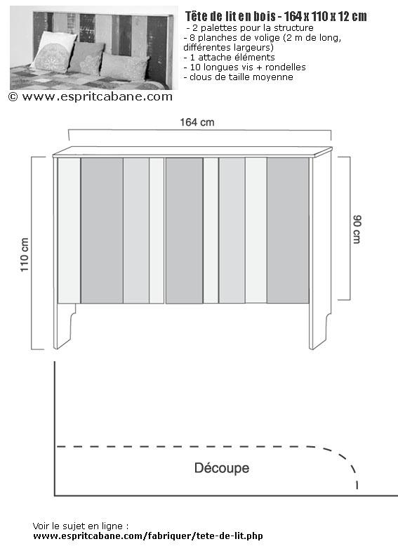 Fabuleux Tête de lit en bois, Esprit Cabane, idees creatives et ecologiques UK63