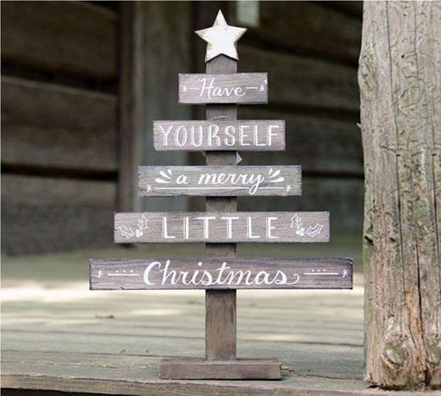 Noël : 10 bricolages déco en bois recyclé - Esprit Cabane