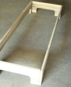Chaise longue en palette esprit cabane idees creatives - Plan de chaise en bois gratuit ...
