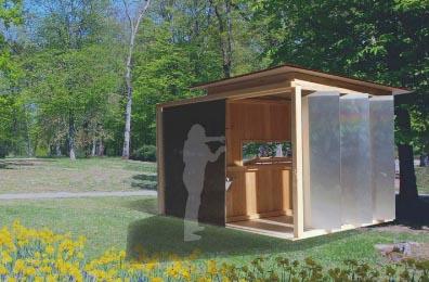 Id es d abris de jardin r cup esprit cabane idees creatives et ecologiques for Idee plan abri de jardin