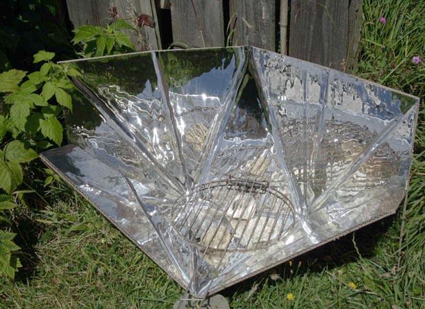 four solaire carton et alu