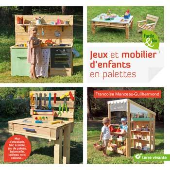 livre Jeux et Mobilier d'enfants en palettes