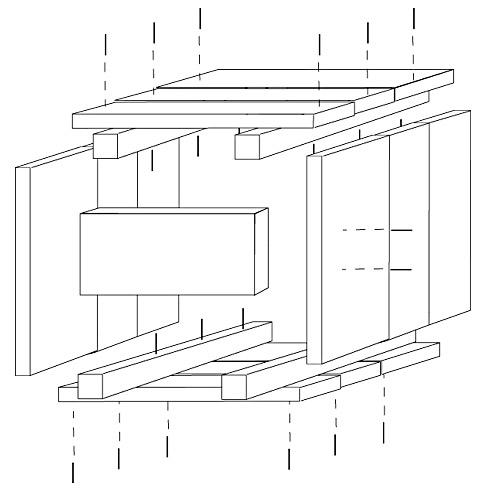 Bac en bois rustique esprit cabane idees creatives et - Plans pour construire une cabane en bois de palette ...