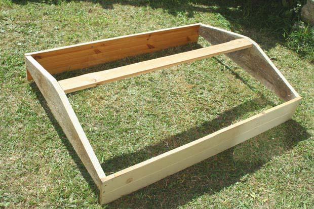 Fabriquer une serre semis avec des fen tres de r cup esprit cabane idees creatives et Fabriquer serre de jardin