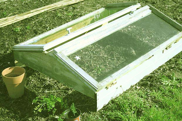 Fabriquer Une Serre à Semis Avec Des Fenêtres De Récup Esprit Cabane