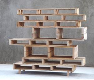 Palettes faites vos meubles esprit cabane idees - Meuble fabrique avec des palettes ...