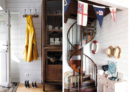 Livre : Le Style Bord De Mer, Esprit Cabane, Idees Creatives Et