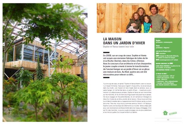 livre ils ont construit leur maison esprit cabane idees creatives et ecologiques. Black Bedroom Furniture Sets. Home Design Ideas